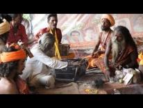 Sadhus singing